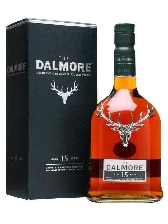 Виски Dalmore 15 y.o. (Далмор 15 лет) 40%, 0,7 литра