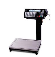 Весы с печатью этикетки от Масса К