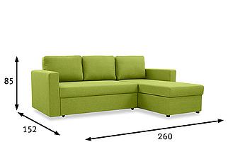 Шкаф-кровать с диваном 160*200 см, фото 3