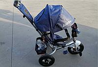 Azimut Велосипед Azimut BC-17B-Air Ламботрайк USB+пульт Blue (BC-17B-AirP)