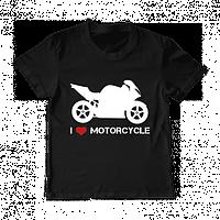 "Футболка для мальчика ""I love motorcycle"", фото 1"
