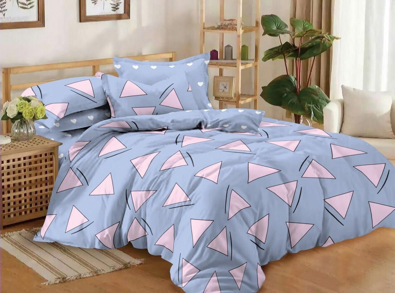 Постельное белье сатин Треугольники
