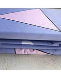 Постельное белье сатин Треугольники, фото 2