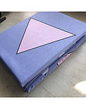 Постельное белье сатин Треугольники, фото 4