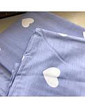 Постельное белье сатин Треугольники, фото 5