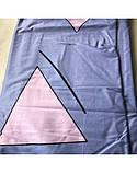 Постельное белье сатин Треугольники, фото 6