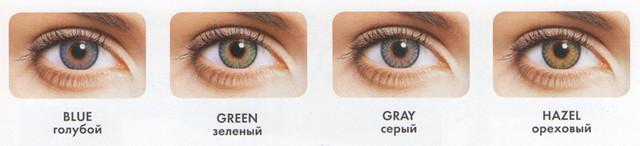 Цветные контактные линзы Fresh Look One Day Color