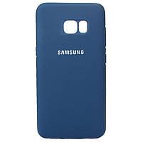 Чехол Original Full Cover Samsung G935 Galaxy S7 Edge Синий