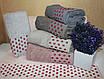 Метровые турецкие полотенца Малиновая точка, фото 4