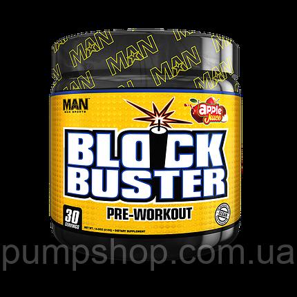 Предтренировочный комплекс MAN Sports BlockBuster Pre Workout 30 порц., фото 2