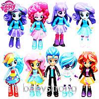 Набор фигурок Май Литл Пони 9 шт 13 см Большие Подвижные Игрушки Куклы  My Little Pony