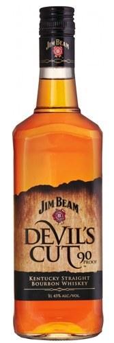 Виски Jim Beam Devil's Cut (Джим Бим Девилс Кат) 45%, 1 литр