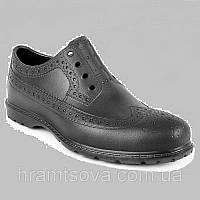 Мужские туфли Оксфорды. Германия - Украина. Непромокаемые обувь для ношения и работы. Материал EVA Черные