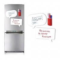 Магнітна дошка на холодильник / Магнитная доска для маркера Chat