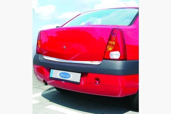 Накладка нижней кромки крышки багажника (нерж.) Renault Logan I 2005-2008 гг.