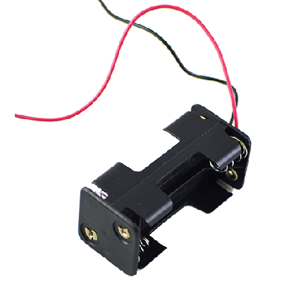 Кассета для 4 батареек типа ААA куб, фото 2