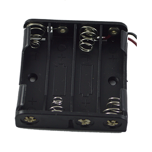 Кассета для 4 батареек типа ААA плоская