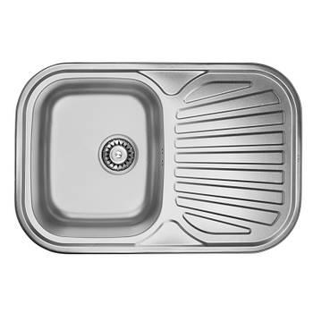 Мойка для кухни ULA 7707 ZS Micro Decor 08 (7448 )