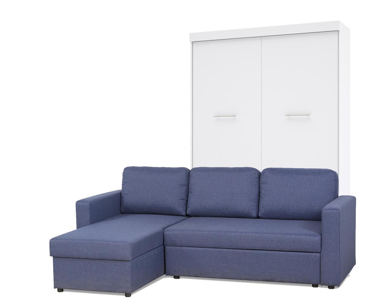 Шкаф-кровать с диваном 160*200 см