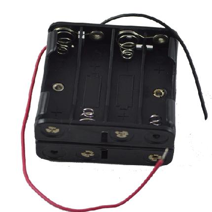 Кассета для 8 батареек типа ААA куб , фото 2