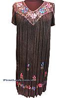 Легкое пляжное женское платье ламбада (с 52 по 68 размер), фото 1
