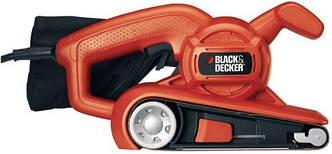 Шлифовальная машина ленточная BLACK&DECKER  KA86-QS 720Вт, 75х457мм.