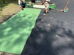 Начало монтажа зеленого цвета
