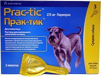 Prac-tic  капли для собак весом от 11 до 22 кг (1пипетка)