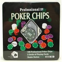 I5-45 Набор для покера 100 фишек