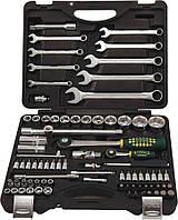 Набор инструментов 82 предмета, 1/4-1/2 дюйма, 6 граней, Force 4821R-5