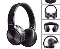 Беспроводные блютуз наушники P19 WIRELESS FM,MP3,SD С микрофоном