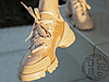 Женские кроссовки Dior D-Connect Sneaker in Nude Neoprene KCK222NGG_S12U, фото 4