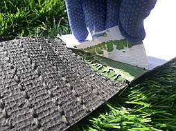 Укладка монофиламентной синтетической травы  14