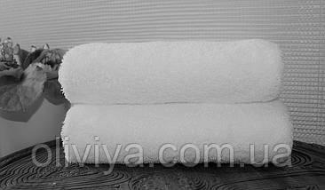 Махровое полотенце для гостиниц белое 50х90, фото 3