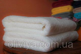 Полотенце для гостиницы 70х140 (белое), фото 2