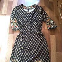 Трикотажное платье 50 размер