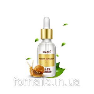 Сыворотка для лица с гиалуроновой кислотой и экстрактом улитки Images Snail, 15 мл