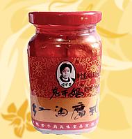 Соєвий сир, Тофу, в гострому чилі соусі,  Lao Gan Ma, 260 г, Китай, АФ