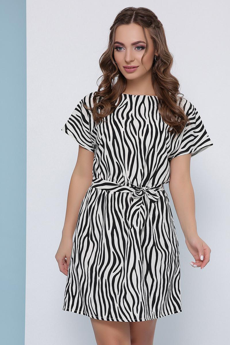 Легкое летнее платье Лаванда