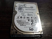 Жесткий диск 500GB для ноутбука 2.5 Seagate Laptop Thin HDD SATA III (ST500LM021)  + Тонкий 7 мм   №60