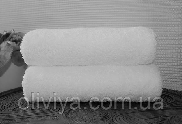 Рушник для готелів біле 100х150, фото 2