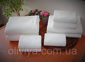 Полотенце для отелей белое 100х150, фото 3