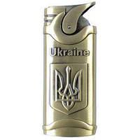 Зажигалка карманная Украина (турбо пламя) №4456