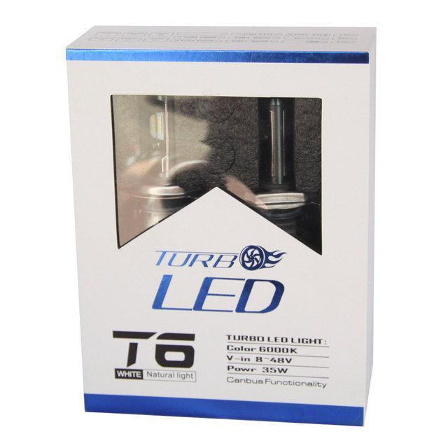Комплект светодиодных LED ламп TurboLed T6-H7