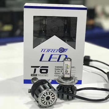 Комплект светодиодных LED ламп TurboLed T6-H11