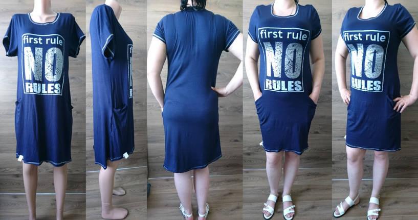 Платье-туника с карманами, фото 2