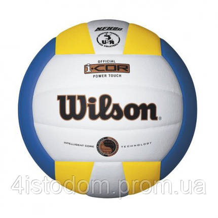 Мяч волейбольный Wilson I-COR POWER TOUCH SS16, фото 2