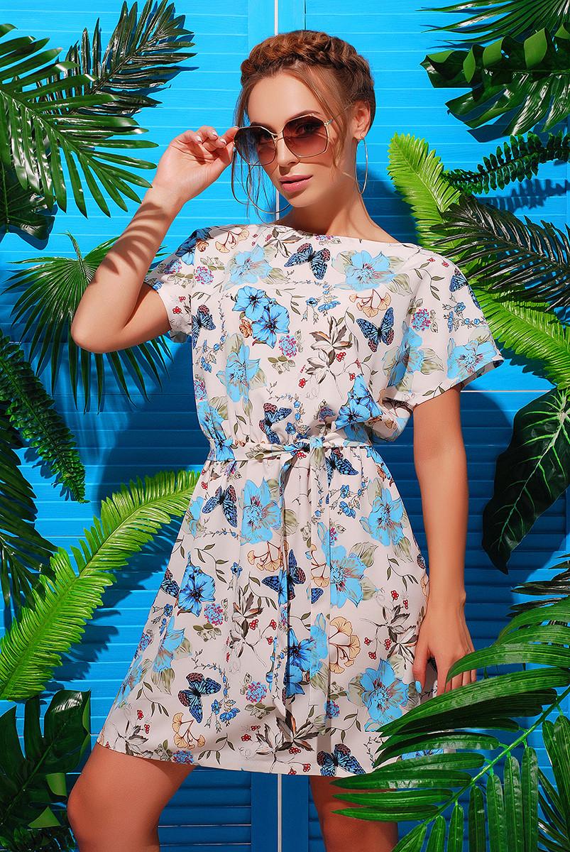 Легкое летнее платье Лаванда-2