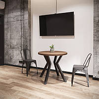 Стол обеденный Свен-4 750/800/800 ТМ Металл-Дизайн