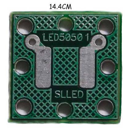 Печатная плата под светодиод типа 5050  3,3 В./12 В., фото 2
